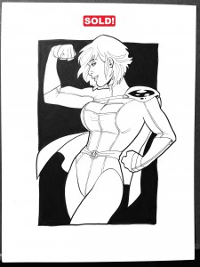Powergirl 300