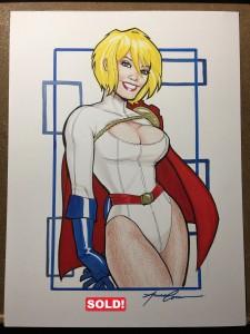 Powergirl $400
