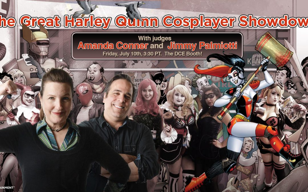 SDCC – Now Recruiting for the Gang of Harleys by Harley Quinn