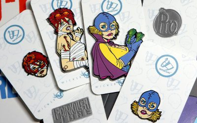PaperFilms partners with Wicked Critter for amazing enamel pin offers!